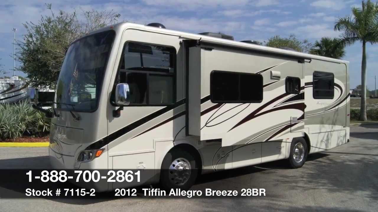 Tiffin 2012 Allegro Breeze 28br Class A Diesel Motorhome