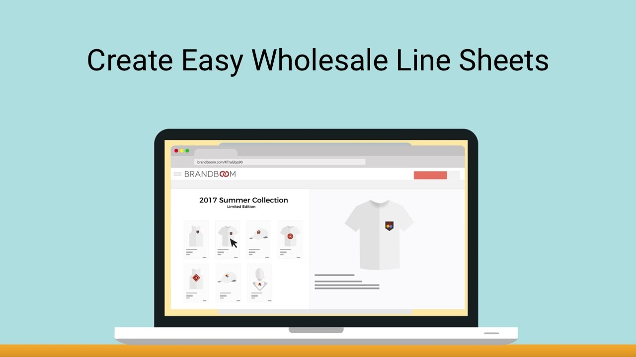 What Are Line Sheets How To Use Them For Wholesale Brandboom