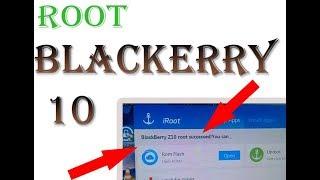 How To ROOT BLACKBERRY Z10 CLON IROOT