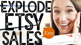 How to INCREASE ETSY SALES drastically | How to make daily sales on Etsy 2020