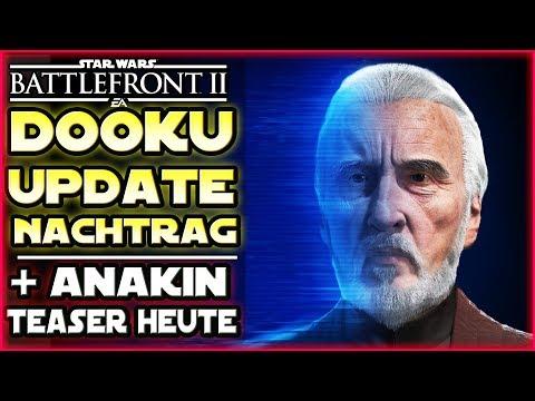 Dooku Update: Uhrzeit & Nachtrag - Anakin Skywalker Teaser heute! - Star Wars Battlefront 2 thumbnail