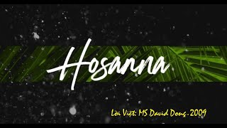 Hosanna_Vietnamese version by Praise & Worship band_David Dong