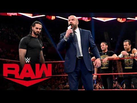 Triple H gives Seth Rollins an ultimatum: Raw, Nov. 4, 2019