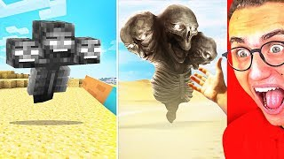 Ultimate MINECRAFT vs. REAL LIFE CHALLENGE!