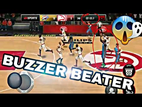 Top 10 Crazy Buzzer Beater in NBA LIVE MOBILE! #1