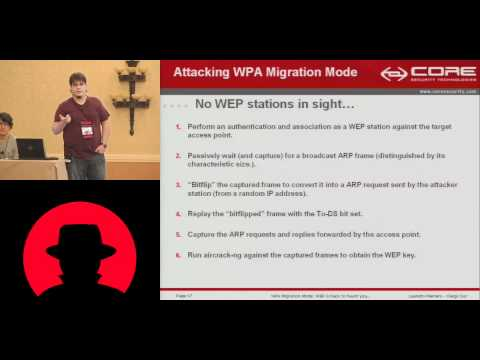 Blackhat 2010 - WPA Migration Mode - Leandro Meiners Diego Sor - Part.mov