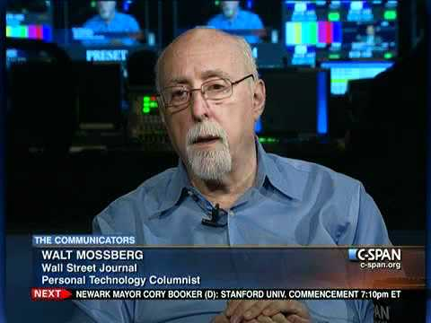 Walt Mossberg discusses the Technology Industry