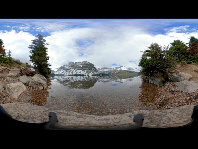 Bow Lake Canada - Video 360
