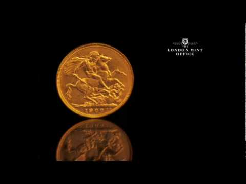 Gold Sovereign Coin - Queen Victoria