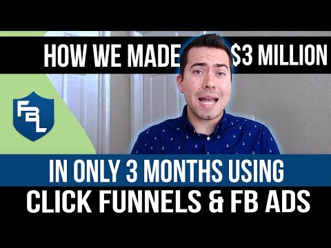 How We Made $3 Million in 3 Months Using Click Funnels, Facebook Ads, and Affiliates