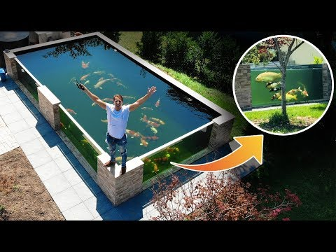 This Is WORLDS MOST BEAUTIFUL Backyard FISH POND |  Garden Designs
