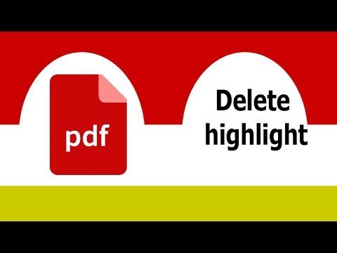 PDF Tutorial- How to delete any pdf document highlight by using adobe acrobat pro