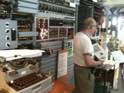 Tony Sale and the Colossus computer (Bletchley Park)