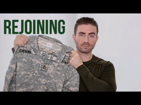 WHY I WOULD REJOIN THE MILITARY