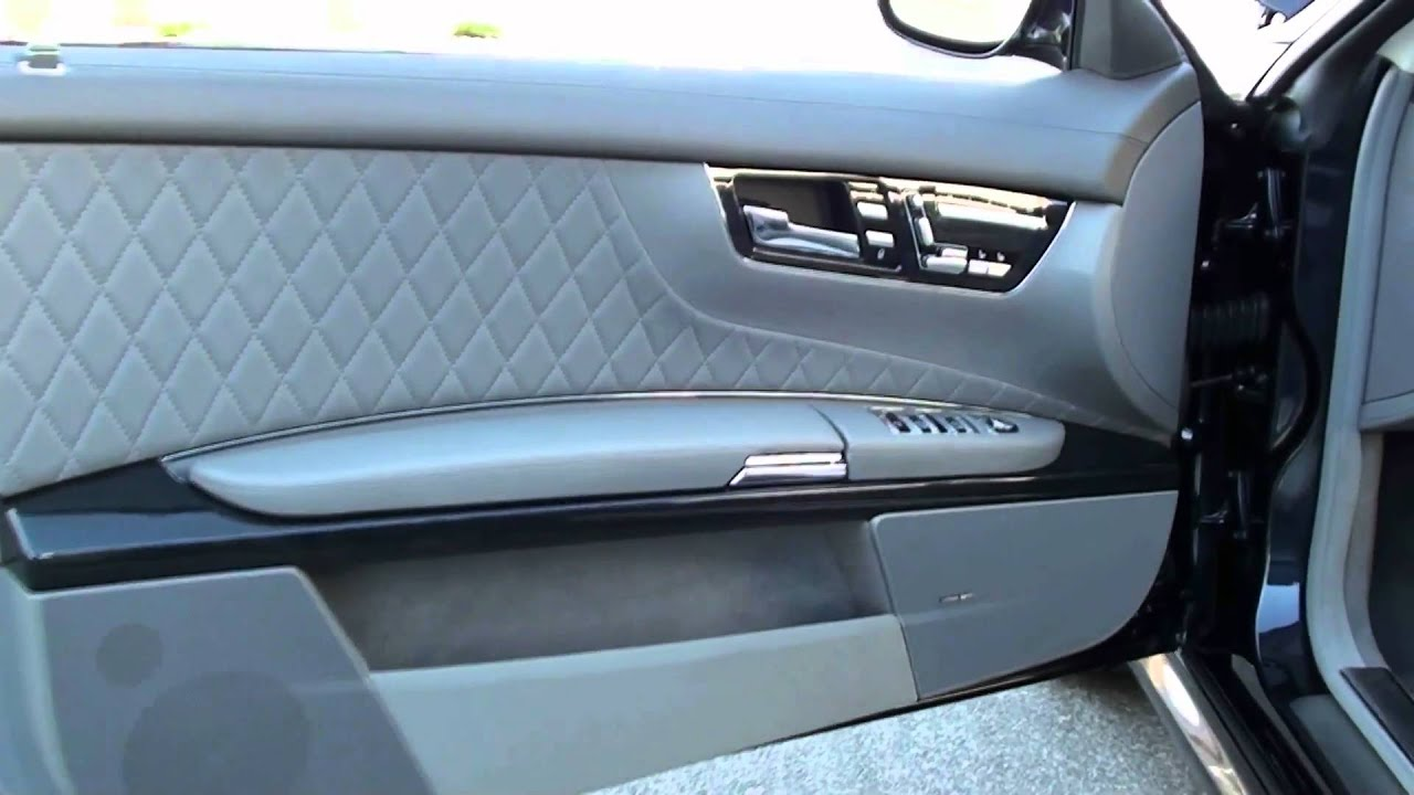 2008 mercedes benz cl65 amg hd flv