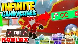ROBLOX BUBBLE GUM SIMULATOR CODE: SANTA UPDATE GIVES INFINITE CANDY CANES?!