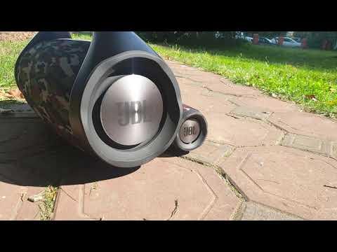 JBL BOOMBOX BASS BOOSTERS VOLUME 100%