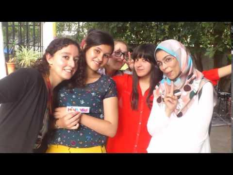 MYL   Japanese Summer Class 2015   Algeria そつぎょうおめでとう   YouTube