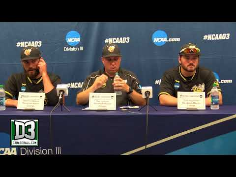 2018 D-III World Series Game 9: Randolph-Macon postgame