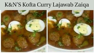 K&Ns kofta curry recipe by Maria