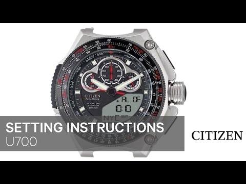 CITIZEN authentic Eco-Drive instruction manuals