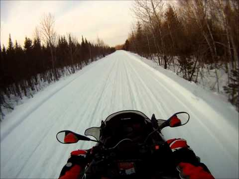 Snowmobiling From The Forks Maine To Jackman