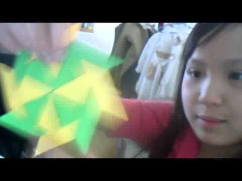 how to make one sided ninja star