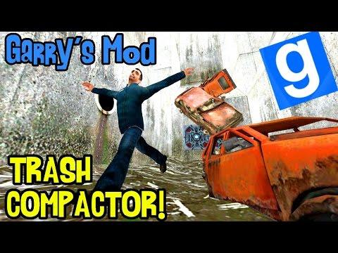 Garry's mod (Z kumplami) #148 - Trash Compactor!   Tak się bawią śmieciarze! /Zagrajmy w