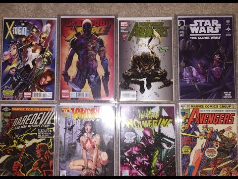 COMIC BOOK HAUL. HOT SPECULATIONS and SICK VARIANTS AND THANK YOU