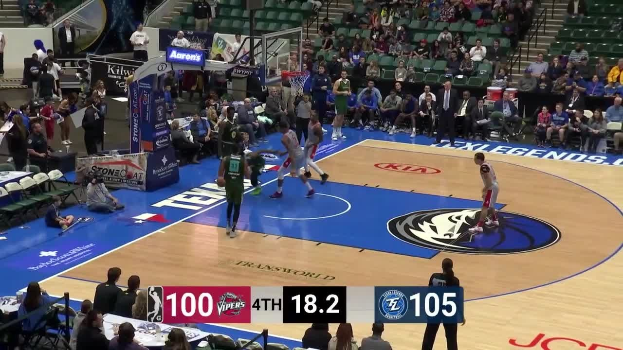Angel Rodriguez (5 points) Highlights vs. Texas Legends