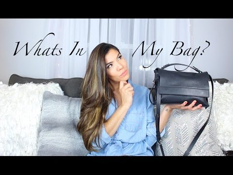 WHAT'S IN MY ALLSAINTS Paradise Shoulder Bag! + Review | Chelsea Hernandez