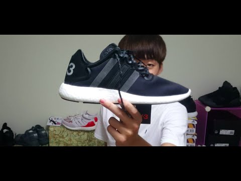 e4ef696ae 小馬開箱介紹Y-3 yohji Run Boost 2016AW 實著分享BB4865 - YouTube