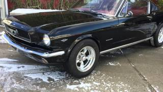MM CLASICOS MUSCLE CAR FORD MUSTANG FASTBACK 2+2 V8 289 1965