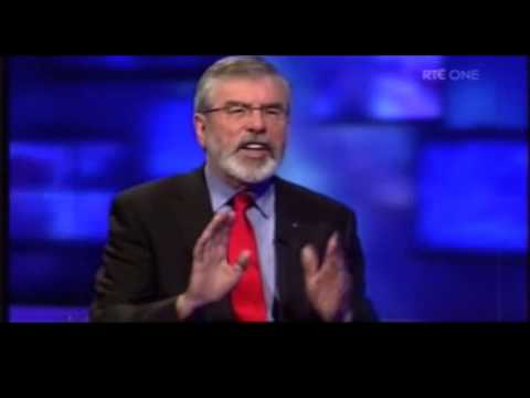 Gerry Adams repeatedly denies knowledge of string of IRA mur