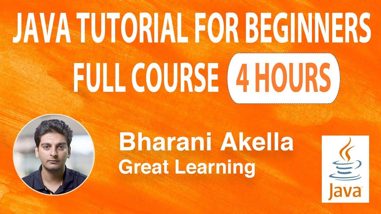 Java Tutorial for Beginners   Java Tutorial   Java Programming   Core Java Tutorial   Learn Java