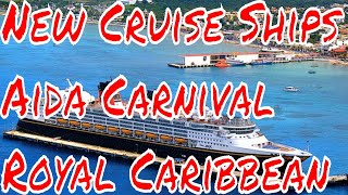 Cruise Ship Updates Disney Cruise Line History Aida New Ships Royal Caribbean Carnival