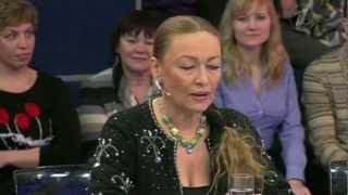 Tatiana Lavrentieva on Evening with Andrey Malahov (15.12.2012)