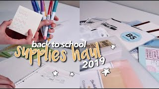 Back To School Supplies Haul ☆ Japanese Stationery