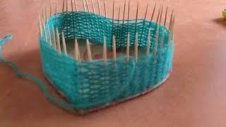 як зробити шкатулку з ниток
