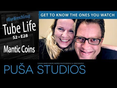 How to Make Money Coin Roll Hunting | Mantic Coins | Tube Life S02 * E28 on Puša Studios!
