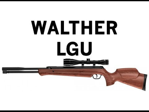IWA 2014 - Walther LGU Air Rifle - Under Lever Spring Air Gun