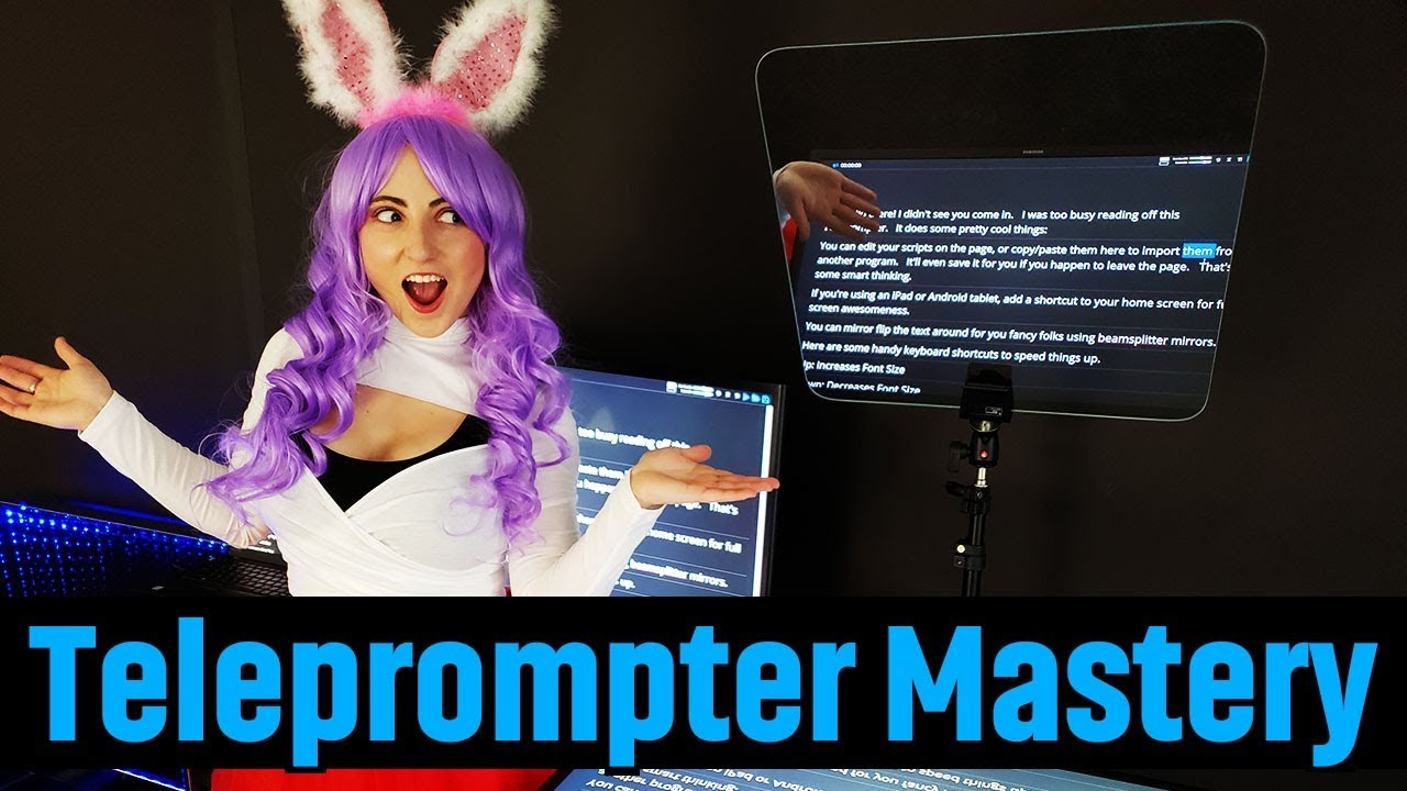 Teleprompter Mirror | Free Prompter Software | Optical