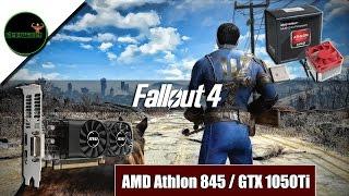 Fallout 4 - Athlon x4 845/ GTX 1050Ti Low Profile/ Micro ATX Pc