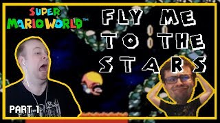 Fly Me To The Stars - Is Space Infinite? (SMW Kaizo) [Part 1]