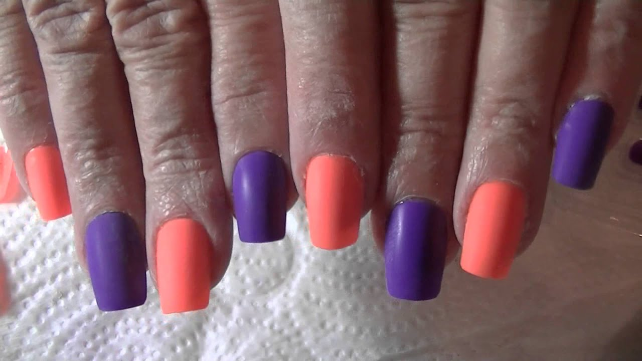 DYI Fake Nails From Dollar Tree (re-release) - YouTube