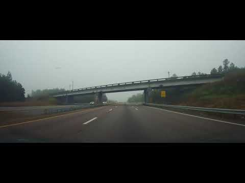 Driving on I26 in South Carolina from Columbia to Interstate 95