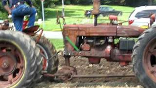 2010 Tippecanoe Steam & Power Plowing IH Tandem H's with plow