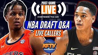 NBA Draft Q&A w/ Draft Insider Matt Babcock | Mock Draft + LIVE Callers
