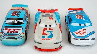 New Cars 3 Bumper Save Racer Old School vs Next Gen Piston Cup racers