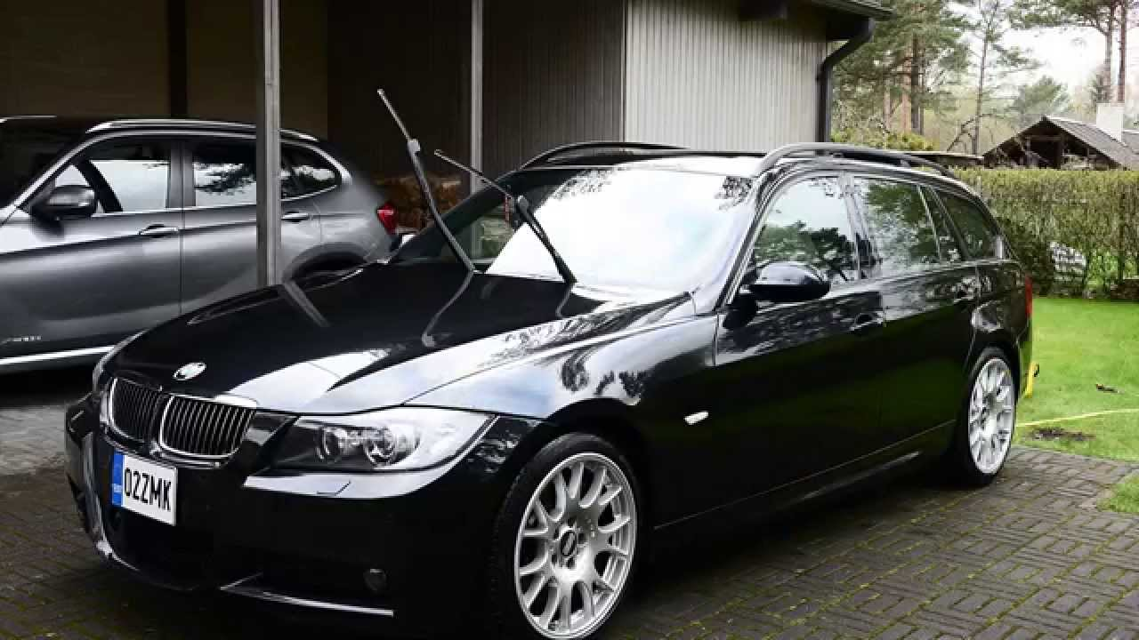 2007 bmw 330xd m sport wagon e91 car wash timelapse. Black Bedroom Furniture Sets. Home Design Ideas